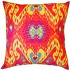 Jiti Coriander Cotton Throw Pillow
