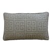 Jiti Riddle Cotton Lumbar Pillow