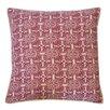 Jiti Stamp Cotton Throw Pillow