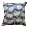 Jiti Flower Cotton Throw Pillow