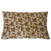 Jiti Asis Hand Block Printed Linen Lumbar Pillow