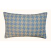 Jiti Houndstooth Outdoor Lumbar Pillow