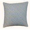 Jiti Wave Maze Outdoor Throw Pillow