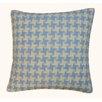 Jiti Houndstooth Outdoor Throw Pillow