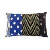 Jiti Bright and Fresh Patchwork Cotton Lumbar Pillow