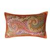 Jiti Paisley Cotton Lumbar Pillow