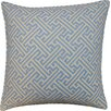 Jiti Wave Maze Outdoor Throw Pillow
