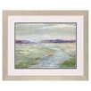 Propac Images Meadow Stream I Framed Painting Print