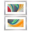 Propac Images Wind Waves 2 Piece Framed Graphic Art Set