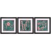 Propac Images Holiday Joy 3 Piece Framed Graphic Art Set