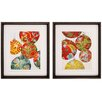 Propac Images Christmas 2 Piece Framed Graphic Art Set