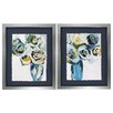 Propac Images Blooms 2 Piece Framed Painting Print Set