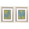 Propac Images Tropicale 2 Piece Framed Painting Print Set