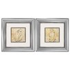 Propac Images Sketch 2 Piece Framed Painting Print Set