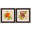 Propac Images Rustic Fruit 2 Piece Framed Painting Print Set