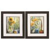 Propac Images Morning Afternoon 2 Piece Framed Painting Print Set