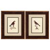 Propac Images Selby Birds 2 Piece Framed Graphic Art Set
