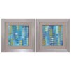 Propac Images Ocean Echo 2 Piece Framed Painting Print Set