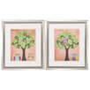 Propac Images Wisdom in Trees 2 Piece Framed Painting Print Set