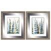Propac Images Pompom Botanical 2 Piece Framed Painting Print Set