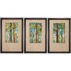 Propac Images Woodland I / II / III 3 Piece Framed Painting Print Set