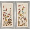Propac Images Meadow I and II 2 Piece Framed Painting Print Set