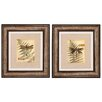 Propac Images Dragonfly III and IV Framed Painting Print (Set of 2)