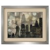 Propac Images City Lights Framed Graphic Art