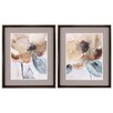 Propac Images Watercolor Poppy2 Piece Framed Painting Print Set