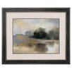 Propac Images Misty Pond Framed Painting Print
