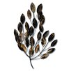 Propac Images Bronze Metal Leaves Wall Décor
