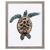 Propac Images Custom Mosaic Turtle II Framed Graphic Art