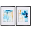 Propac Images Winds Tide 2 Piece Framed Painting Print Set