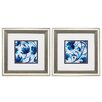 Propac Images Swirl 2 Piece Framed Painting Print Set