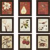 Paragon Recollection by Andrew 9 Piece Framed Graphic Art Set (Set of 9)