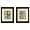 PTM Images Kitchen Cups 2 Piece Framed Painting Print Set