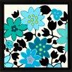 PTM Images Blue Flowers I Giclée Framed Graphic Art