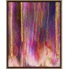PTM Images 'Paint Drips' Framed Graphic Art on Canvas