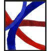 PTM Images Colorful Lines I Framed Painting Print
