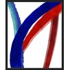 PTM Images Colorful Lines II Framed Painting Print