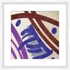 PTM Images Painted Pattern II Framed Painting Print
