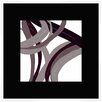 PTM Images Purple Abstract I Framed Painting Print