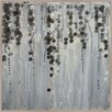 PTM Images Grey Pearls Painting Print on Wrapped Canvas