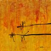 PTM Images Nature Painting Print on Wrapped Canvas