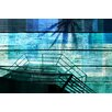 PTM Images Sky Watching Painting Print on Wrapped Canvas