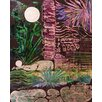 PTM Images Nightfall Painting Print on Wrapped Canvas