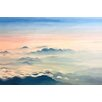PTM Images Abstract Clouds Painting Print on Wrapped Canvas