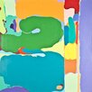 PTM Images Colorful Abstract Painting Print on Wrapped Canvas