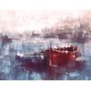 PTM Images Boats Painting Print on Wrapped Canvas
