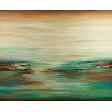 PTM Images Pondering Landscape Painting Print on Wrapped Canvas